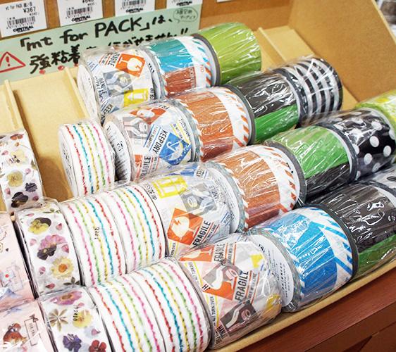 大丸藤井CENTRAL內紙膠帶包裝用系列