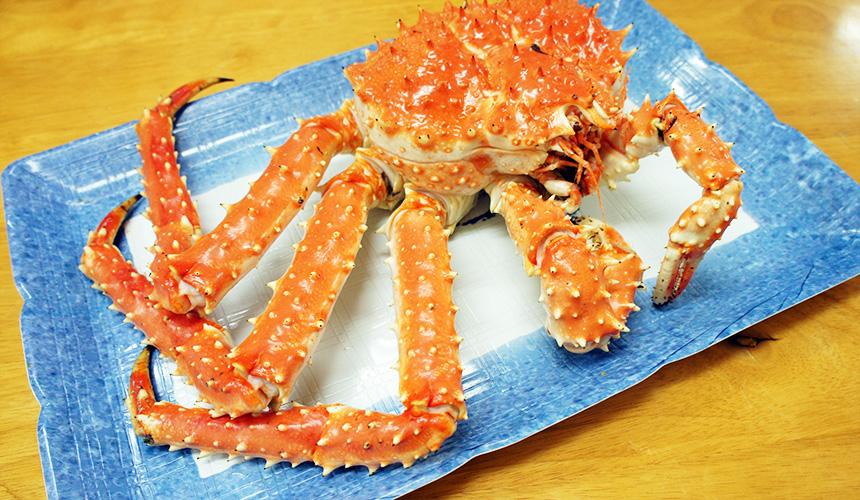 味処たけだ水煮的鱈場蟹