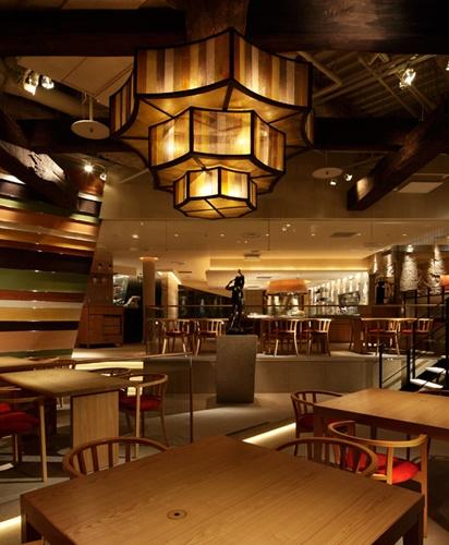 札幌必吃海鮮壽司店炙屋大通BISSE店的室內一景