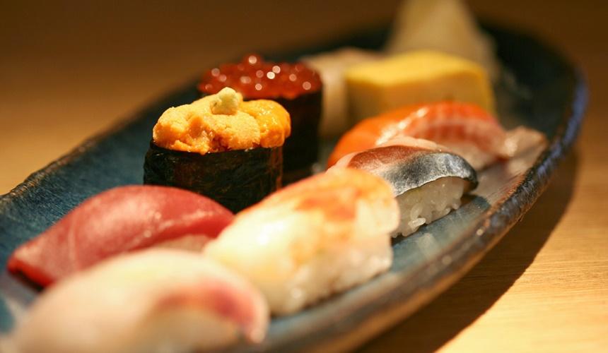 札幌必吃海鮮壽司店炙屋大通BISSE店的雅壽司八款