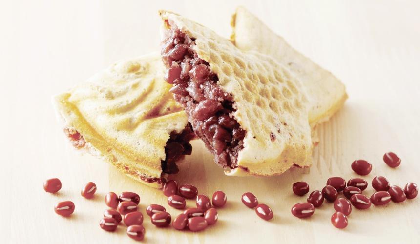 SAZAE十勝大名冰淇淋店的薄皮鯛魚燒