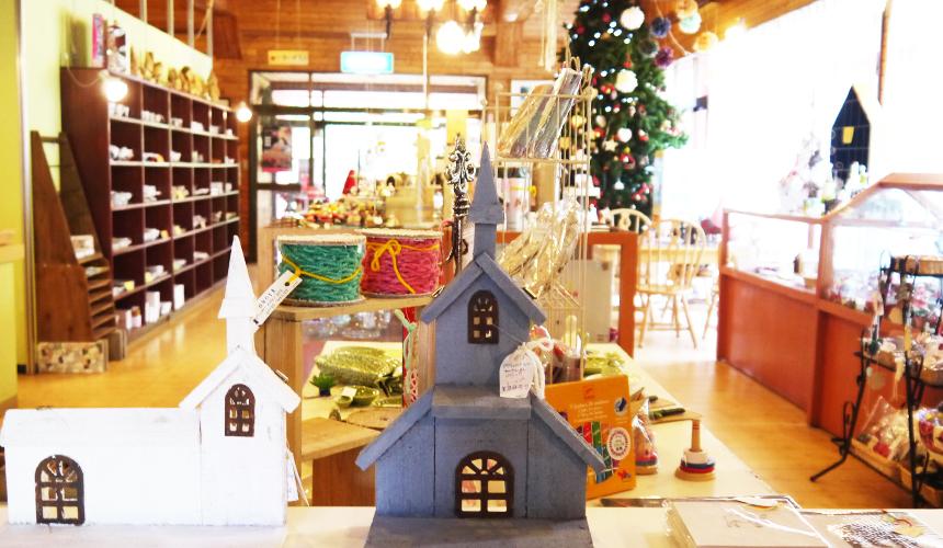廣尾聖誕樂園室內一景