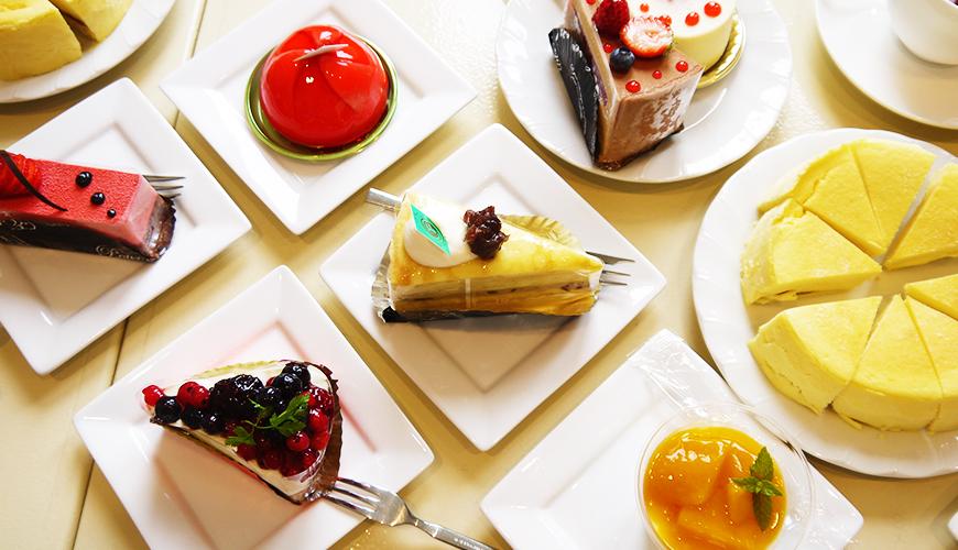 更別村NISHIYAMA甜點店享用新鮮蛋糕!
