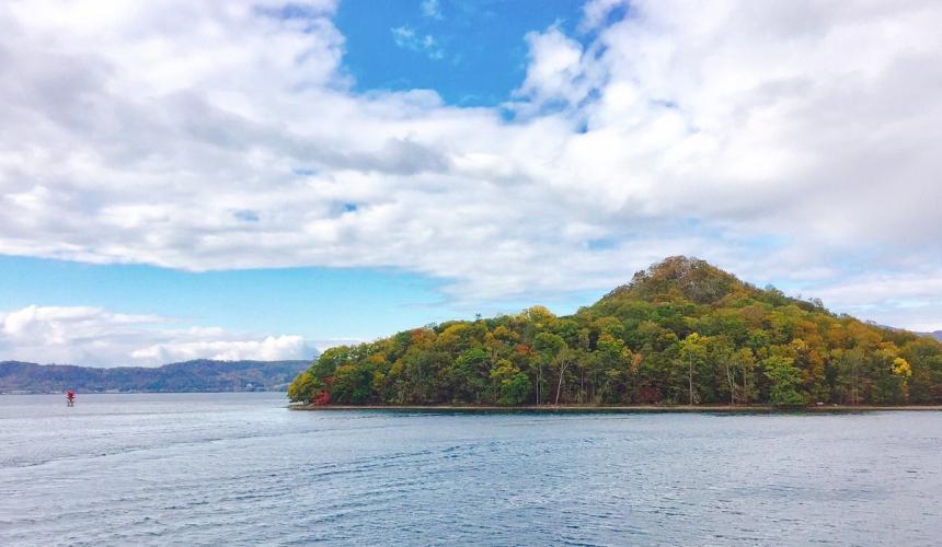 北海道洞爺湖溫泉推薦搭乘遊覽船