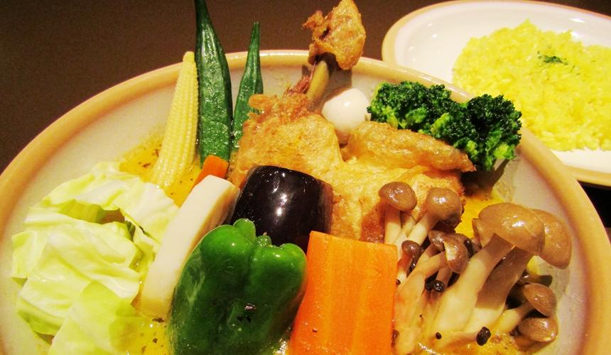 雞肉蔬菜咖哩