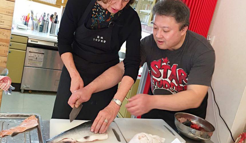 中央卸売市場北海道壽司內幕工作坊壽司DIY體驗