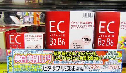 札幌必逛藥妝「SUNDRUG 狸小路2丁目店」ビタサプリECB2B