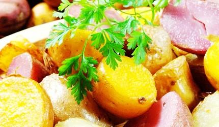 肥美牡蠣100日圓起,還有無敵夜景!札幌原始燒烤酒場「Lungo Carnival Central S4店」的炸薯塊(フライドポテト、490日圓)
