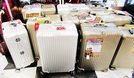 北海道必逛人氣藥妝、最潮家電推薦:「唐吉訶德狸小路店」的各式旅行箱