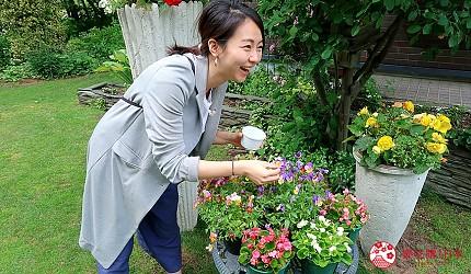 北海道賞花推薦惠庭Sun Garden吃花體驗