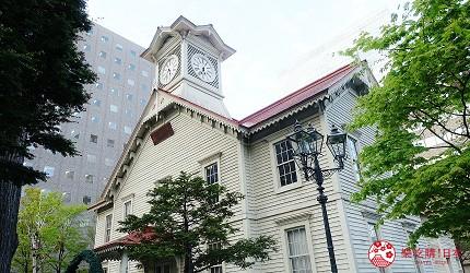 札幌必去景點札幌時計台