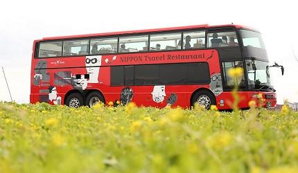 日本willer餐廳觀光巴士外觀