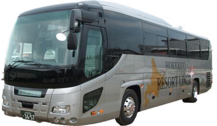 北海道Resort Liner的觀光巴士