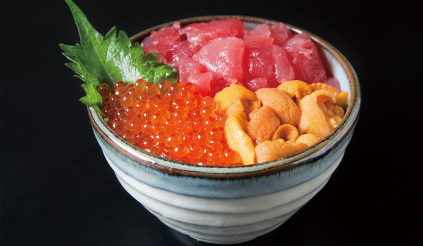 北海道札幌二條市場「大磯」的海鮮丼
