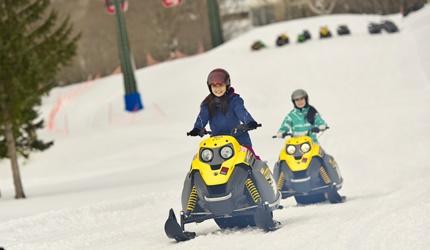 北海道最大四季度假勝地「留壽都度假區」冬季玩雪車