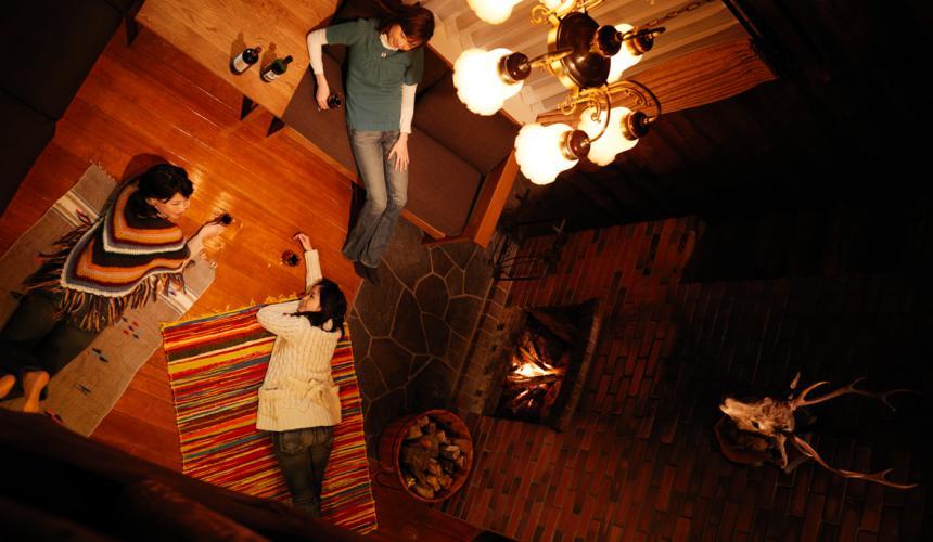 北海道最大的四季度假胜地「留寿都度假区」的威斯汀留寿都度假酒店的森林中的度假木屋