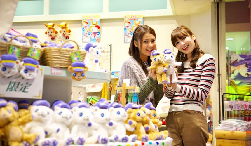 北海道最大的四季度假胜地「留寿都度假区」的商品区