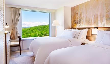 北海道最大的四季度假胜地「留寿都度假区」的威斯汀留寿都度假酒店的「天梦之床」