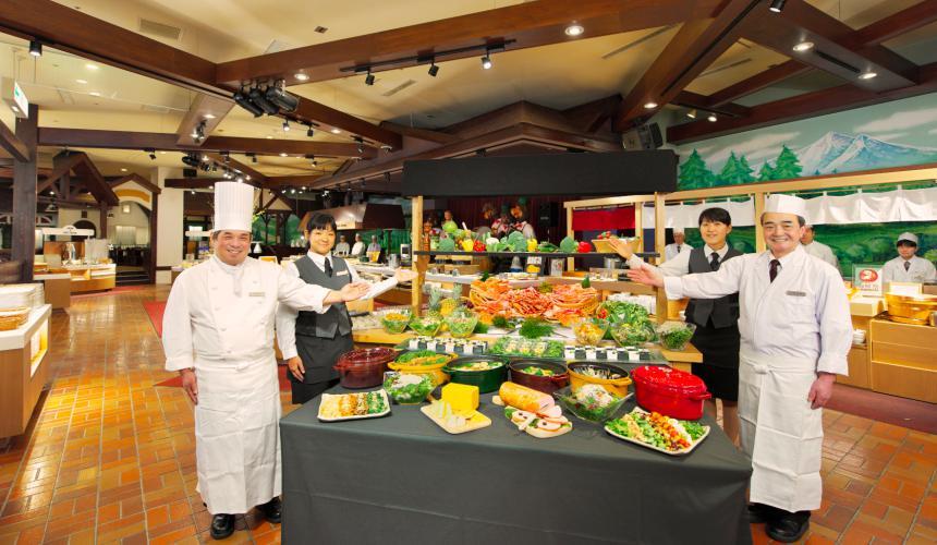 北海道最大的四季度假胜地「留寿都度假区」的自助餐厅「Oktober Fest」