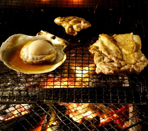 函館必吃炭火燒烤名店「きくよ食堂 Bay Area店」炭烤料理