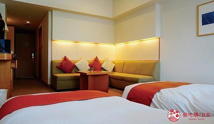 札幌飯店推薦「札幌克拉比飯店」的精緻雙人房