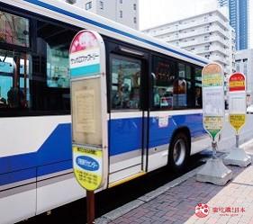 札幌飯店推薦「札幌克拉比飯店」前往的巴士