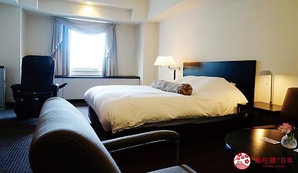 札幌飯店推薦「札幌克拉比飯店」的豪華雙人房