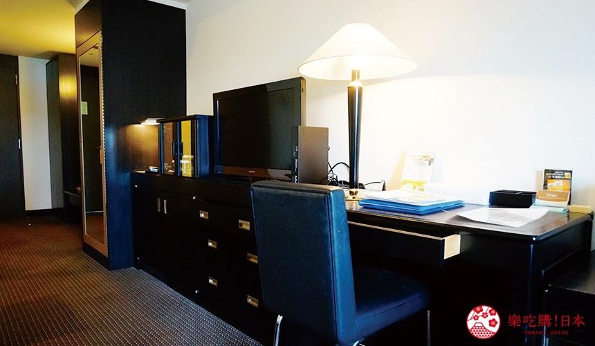 札幌飯店推薦「札幌克拉比飯店」的豪華雙人房裝潢