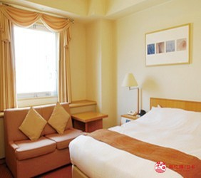 札幌飯店推薦「札幌克拉比飯店」的客房裝潢