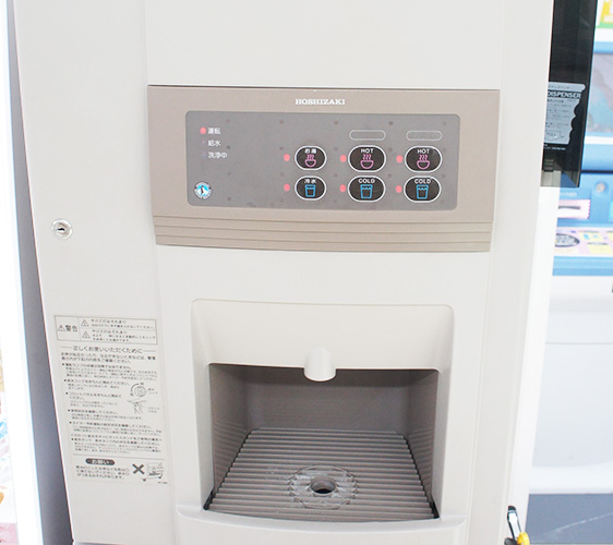 北海道札幌药妆店推荐「SAPPORO DRUG STORE 狸小路5丁目店」的店内饮水机