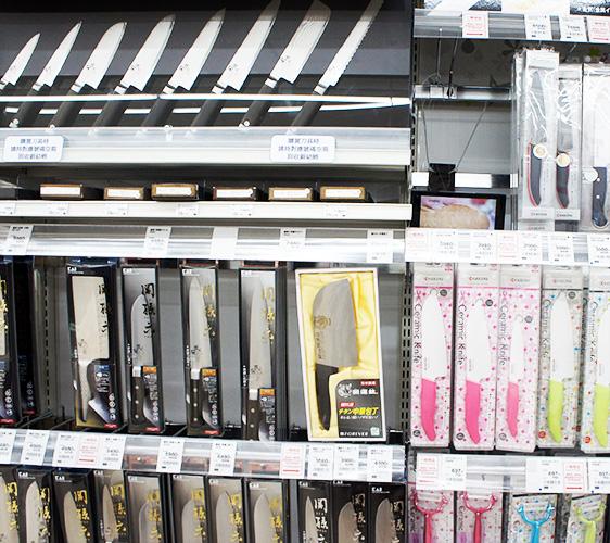北海道札榥药妆店推荐SAPPORO DRUG STORE 狸小路5丁目店卖的刀具商品