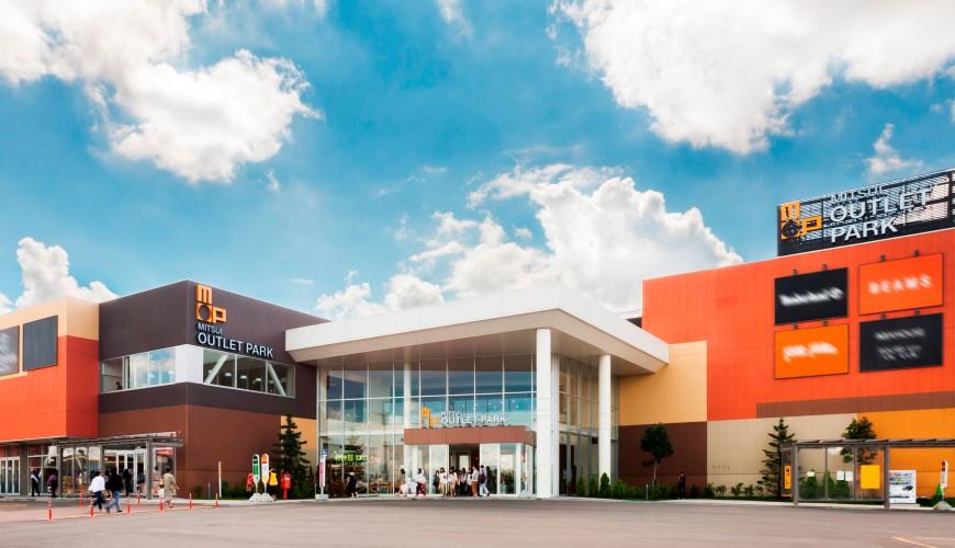 北海道最大三井OUTLET「MITSUI OUTLET PARK 札幌北廣島」:免稅店130家購物天堂!