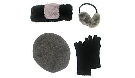 围巾围脖耳罩手套示意图