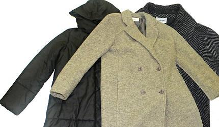 保暖厚外套长版大衣示意图