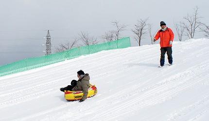 Rurumappu自然公園雪上活動