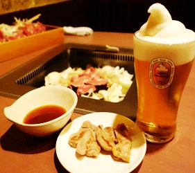 札幌生啤酒成吉思汗烤肉、螃蟹與和牛店家推薦「麒麟啤酒園」啤酒搭配札幌美食