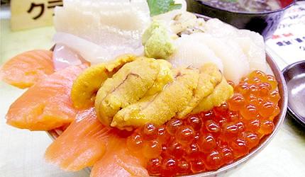 日本北海道海鮮丼