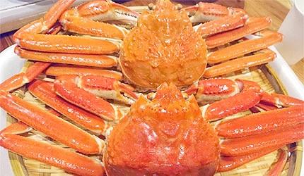 日本北海道螃蟹松葉蟹鱈場蟹帝王蟹毛蟹