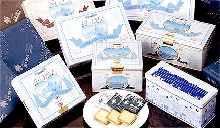 日本北海道限定餅乾零食白色戀人黑色戀人