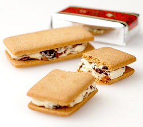 日本北海道限定六花亭葡萄奶油夾心餅乾