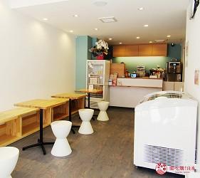 北海道札幌推薦霜淇淋店!登別牛奶做的冰淇淋霜淇淋「COOL GARDEN」的店內一景