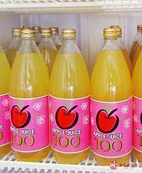 北海道札幌推薦霜淇淋店!登別牛奶做的冰淇淋霜淇淋「COOL GARDEN」的100%青森縣蘋果汁(リンゴジュース)