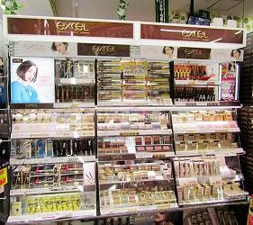 北海道必逛人氣藥妝、最潮家電推薦:「唐吉訶德狸小路店」的人氣美妝品牌「Excel」