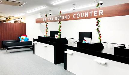 北海道必逛人氣藥妝、最潮家電推薦:「唐吉訶德狸小路店」的免稅櫃檯
