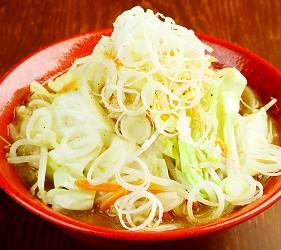北海道札幌传统味噌拉面专门店「味噌吟札幌本店」的蔬菜味噌拉面