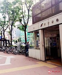 北海道札幌传统味噌拉面专门店「味噌吟札幌本店」的前往方式第二步