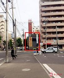 北海道札幌传统味噌拉面专门店「味噌吟札幌本店」的前往方式第四步