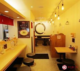 北海道札幌传统味噌拉面专门店「味噌吟札幌本店」的店内环境