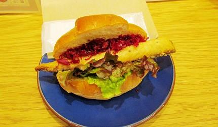 北海道在地推薦美食札幌PARCO「FOODIES MARKET」的山貓Bar Sandwiches(山猫バル サンドウィッチーズ)的三明治
