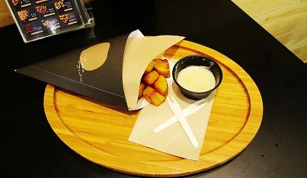 北海道在地推薦美食札幌PARCO「FOODIES MARKET」的大地Friet・天狗堂(大地のフリット・天狗堂)的薯塊